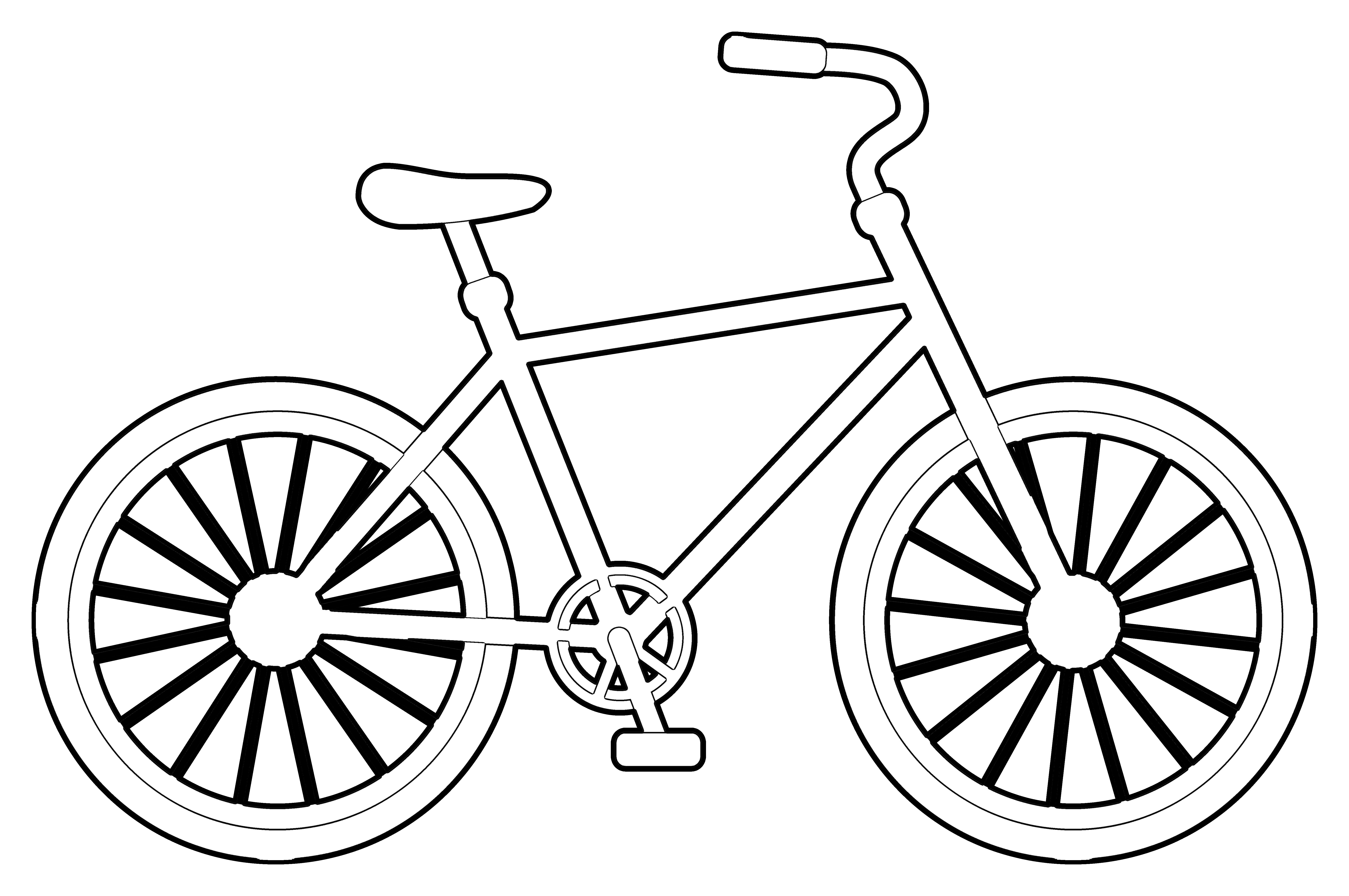 bike coloring pages bike coloring page getcoloringpagescom bike coloring pages