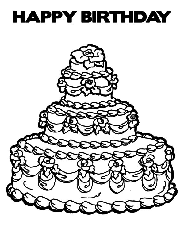 birthday cake coloring birthday cake coloring pages to download and print for free birthday cake coloring