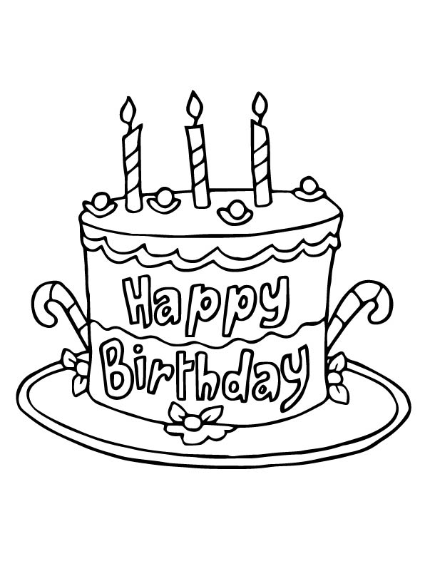 birthday cake coloring birthday cake coloring pages to download and print for free cake coloring birthday
