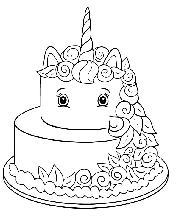 birthday cake coloring birthday cake coloring pages to download and print for free cake coloring birthday 1 1