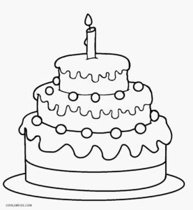 birthday cake coloring happy birthday cake image coloring page birthday cake coloring