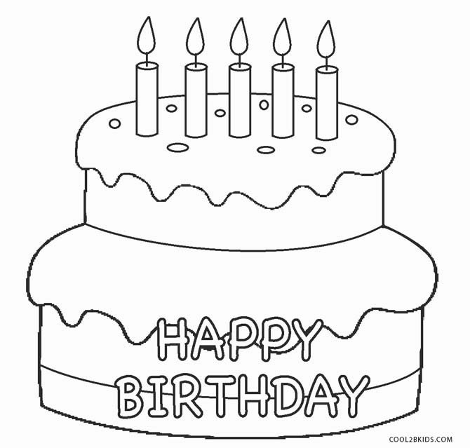 birthday cake coloring super happy birthday cake coloring page free printable coloring birthday cake