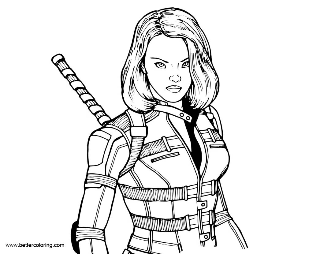 black widow coloring pages black widow from marvel coloring pages free printable pages coloring black widow