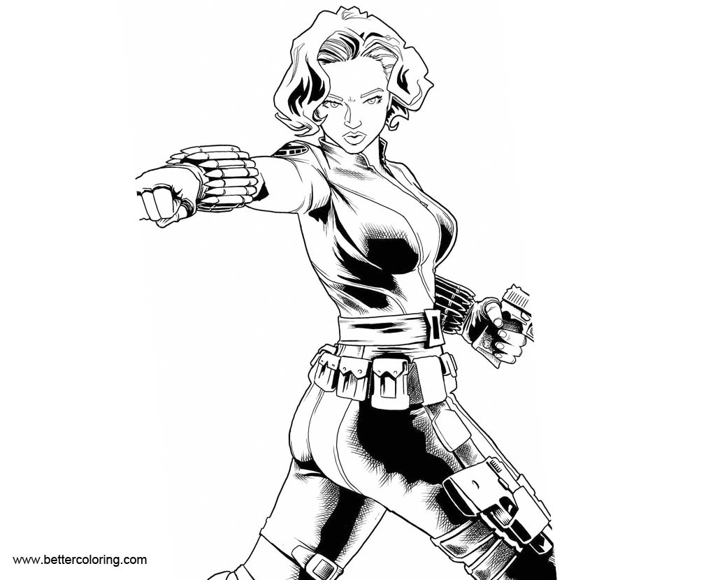 black widow coloring pages coloring pages black widow printable for kids adults free pages widow coloring black