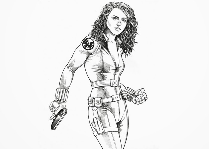 black widow coloring pages get this avengers coloring pages black widow printable 63189 pages widow coloring black