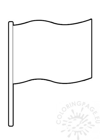 blank flag coloring page blank flag template printable color guard pinterest sketch blank flag coloring page