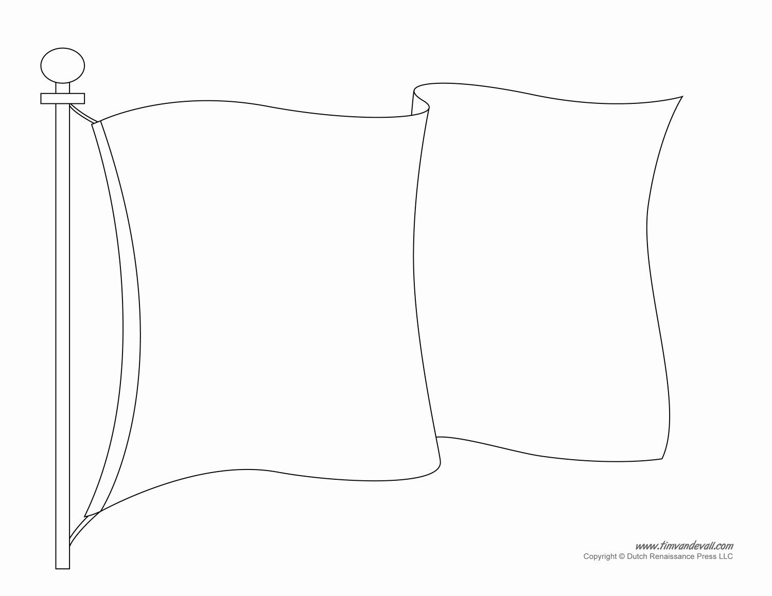 blank flag coloring page blank flag template printable make your own flag flag page coloring blank