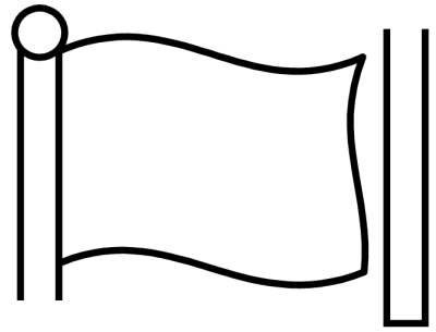 blank flag coloring page flag template printable coloring page page flag coloring blank
