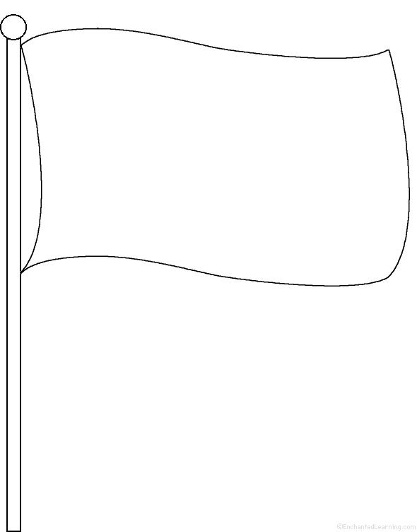blank flag coloring page free printable blank flag template free printable page flag blank coloring