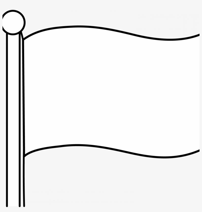blank flag coloring page plain flag wave clipart clipground blank coloring flag page
