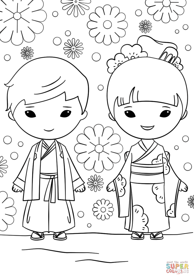boy and girl coloring sheet boys and girls drawing at getdrawings free download and girl boy coloring sheet