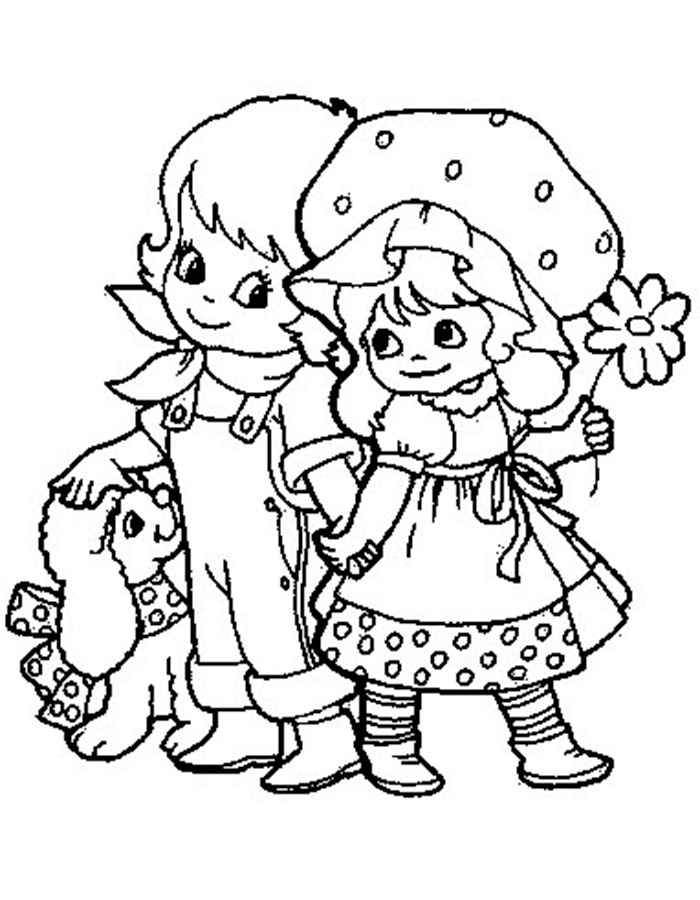 boy and girl coloring sheet happy children on summer trip on quality coloring page sheet coloring girl boy and sheet
