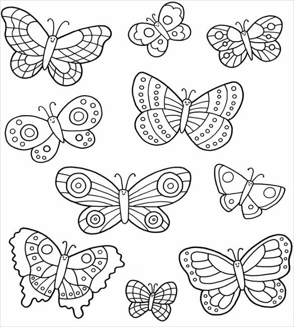 butterfly coloring template 30 butterfly templates printable crafts colouring coloring butterfly template