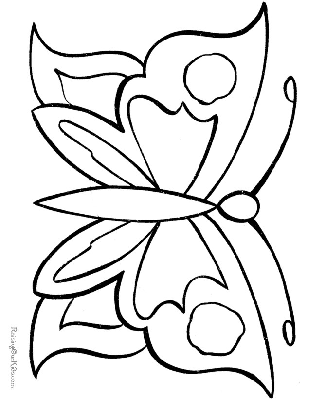 butterfly coloring template printable butterfly coloring pages for kids cool2bkids coloring butterfly template
