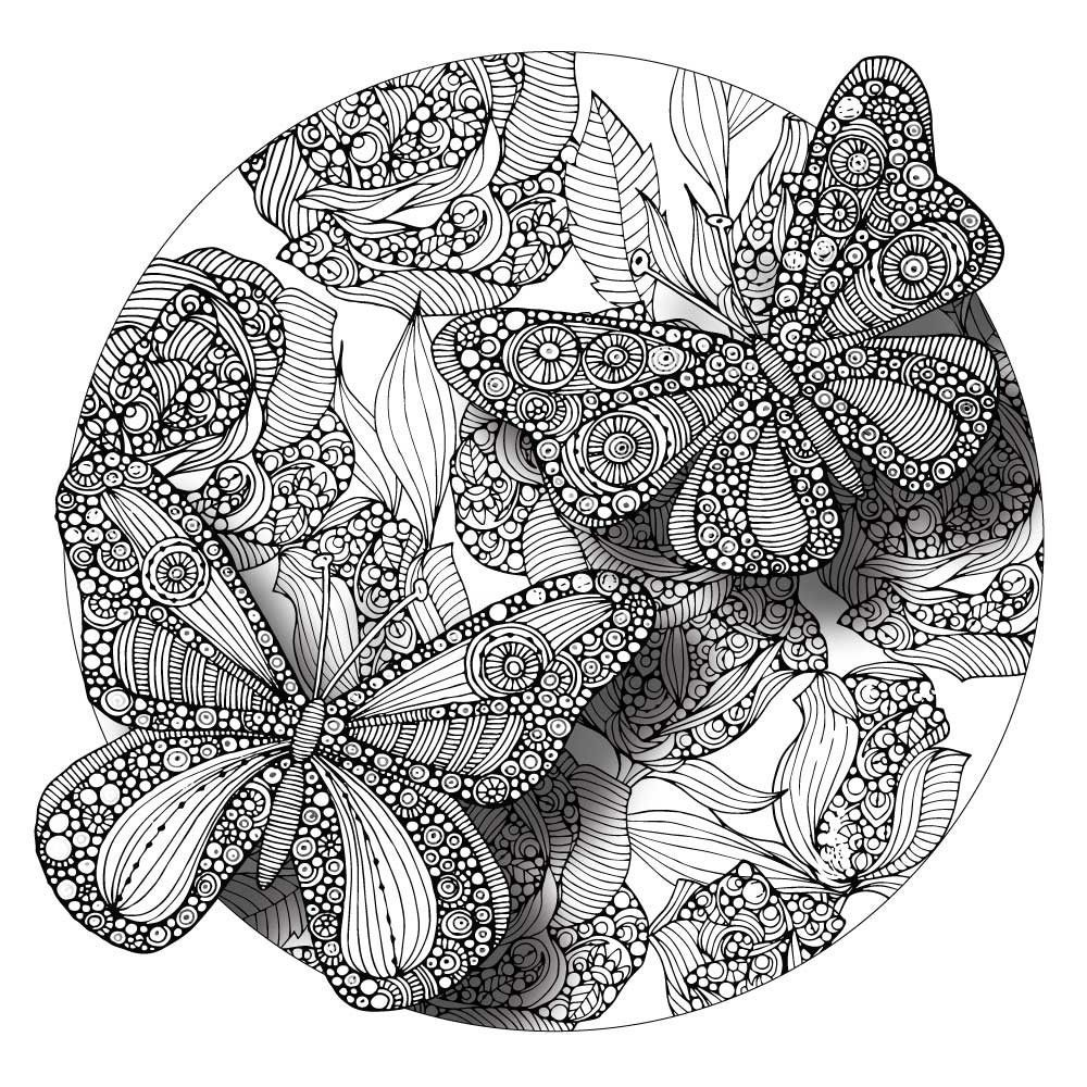 butterfly mandala coloring pages butterfly mandala coloring pages at getcoloringscom pages coloring butterfly mandala