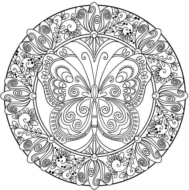 butterfly mandala coloring pages pin by kelly w on coloring pages such butterfly mandala coloring butterfly pages