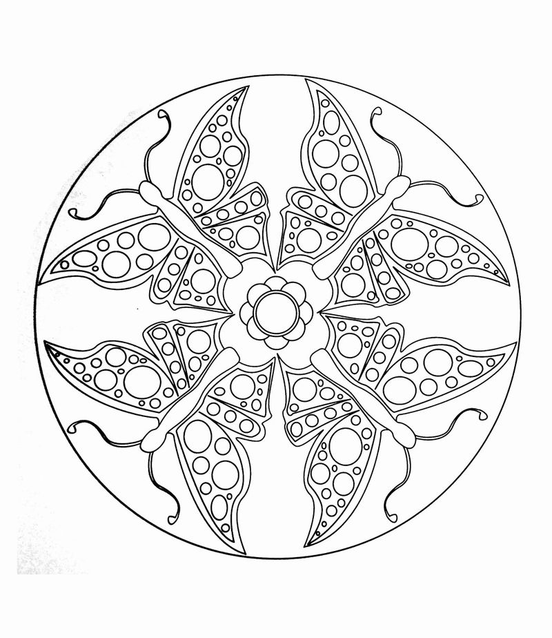 butterfly mandala coloring pages pin on butterfly coloring pages mandala pages butterfly coloring