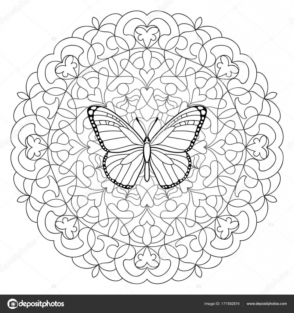 butterfly mandala coloring pages printable butterfly mandala coloring pages 51 pages mandala butterfly coloring