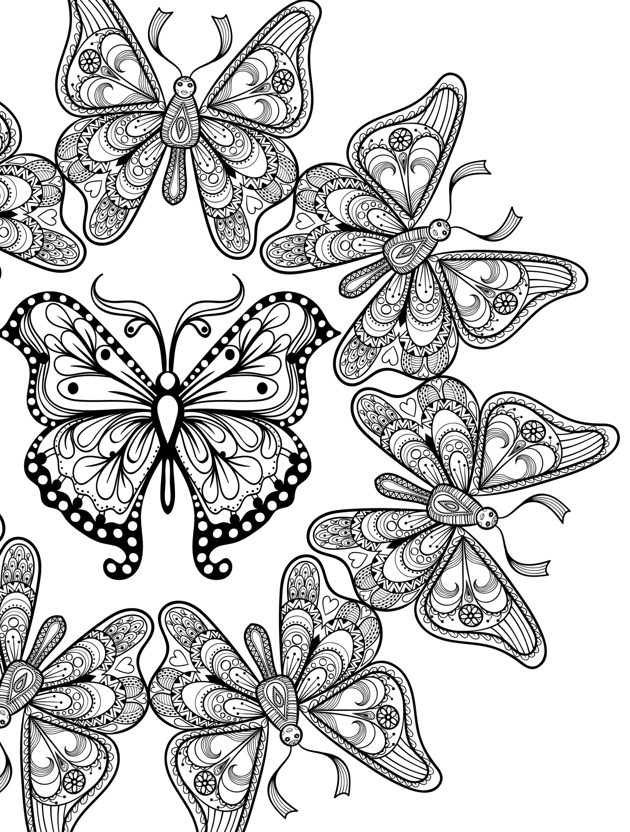 butterfly mandala coloring pages printable butterfly mandala pdf coloring pages 48 mandala coloring butterfly pages