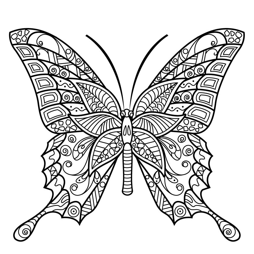 butterfly mandala coloring pages printable butterly coloring pages coloring mandala pages butterfly