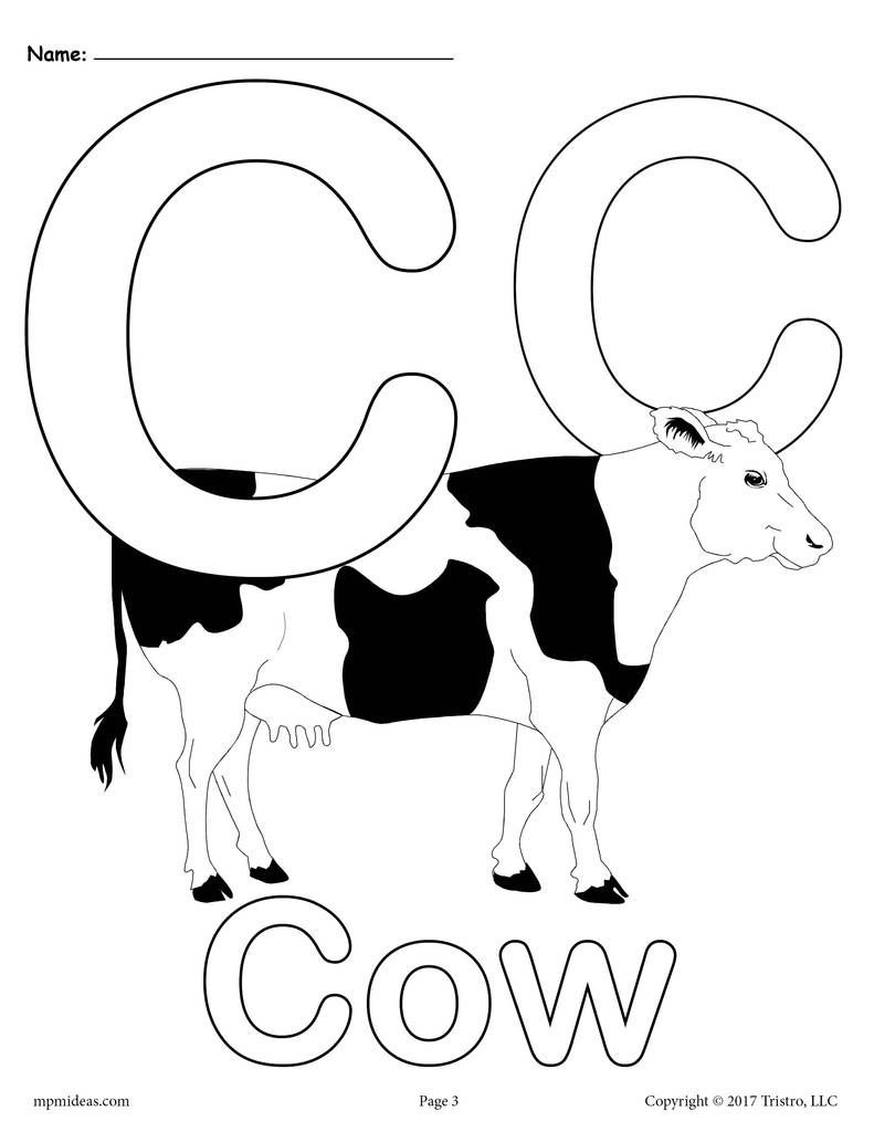 c coloring worksheet c cow coloring pages coloring home worksheet c coloring