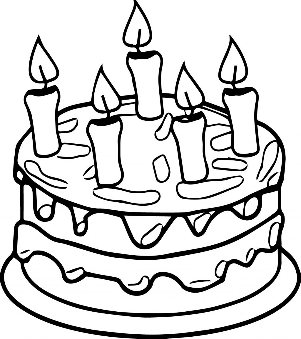 cake printables for coloring birthday cake coloring pages preschool at getcoloringscom for printables coloring cake