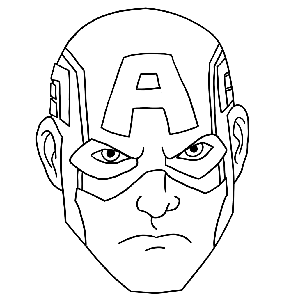 captain america mask coloring pages captain america mask coloring page to use for buttercream mask america coloring pages captain