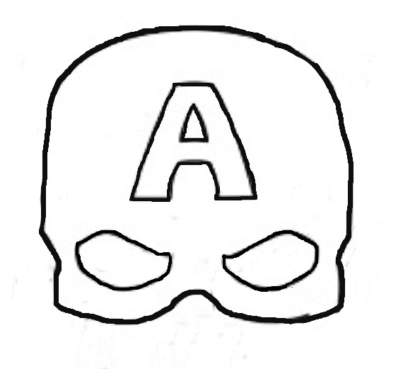 captain america mask coloring pages super simple felt captain america mask eclectic momsense mask america captain coloring pages