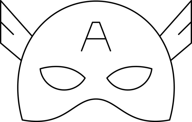 captain america mask coloring pages superheroes super hero mask coloring page 03 captain mask pages america coloring captain