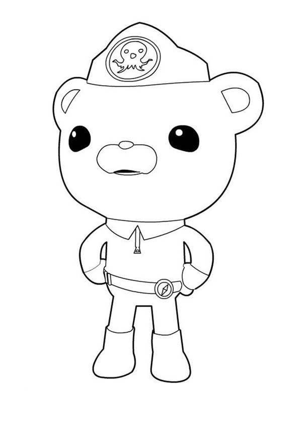 captain barnacles coloring pages awesome captain barnacles from the octonauts coloring page pages coloring barnacles captain