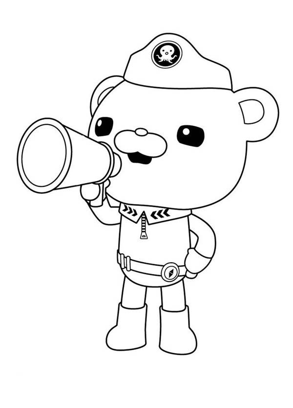 captain barnacles coloring pages captain barnacles playing accordion in the octonauts coloring captain pages barnacles