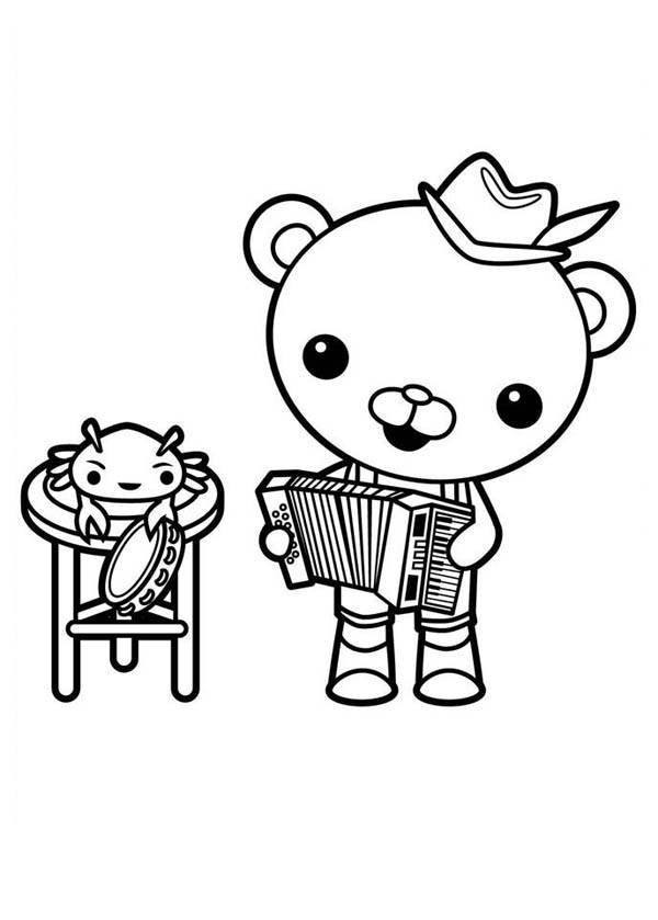 captain barnacles coloring pages coloriage capitaine barnacles bear 색칠 활동 디즈니 바다 barnacles pages coloring captain