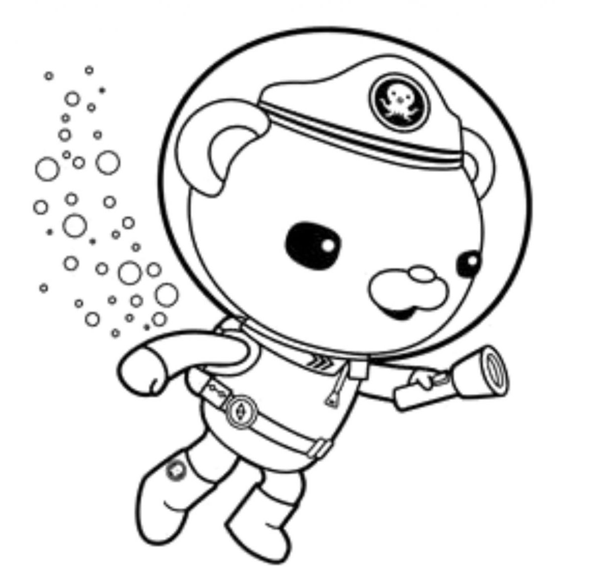 captain barnacles coloring pages kwazii laughing in the octonauts coloring page download pages barnacles coloring captain