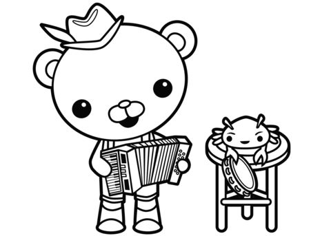 captain barnacles coloring pages octonauts coloring pages coloring pages thanksgiving barnacles coloring captain pages