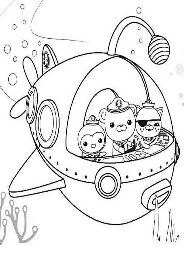 captain barnacles coloring pages peso captain kwazii in octonauts ship coloring page captain pages coloring barnacles