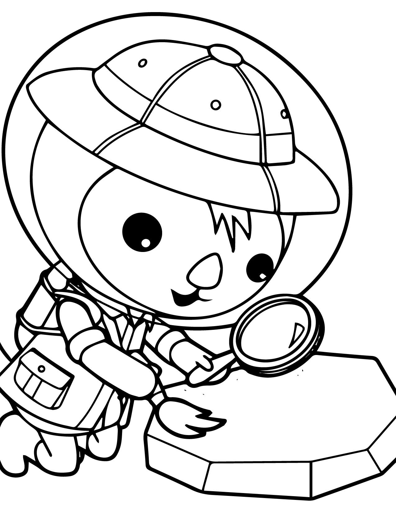 captain barnacles coloring pages pin by krista emery on twins octonauts coloring pages captain barnacles pages coloring