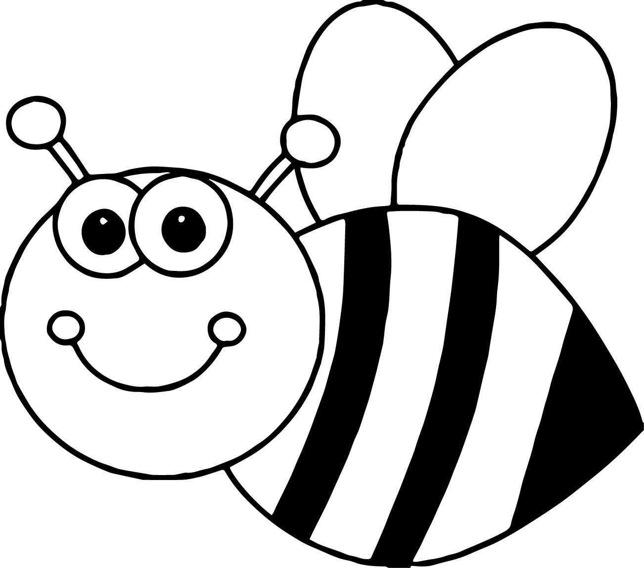 cartoon bumble bee coloring pages cute cartoon bumblebee coloring page free printable pages coloring bumble cartoon bee