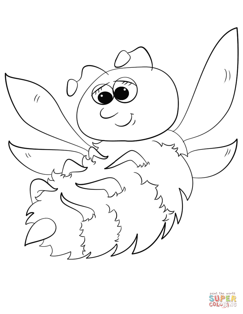 cartoon bumble bee coloring pages free printable bumble bee coloring pages for kids bumble bee coloring cartoon pages