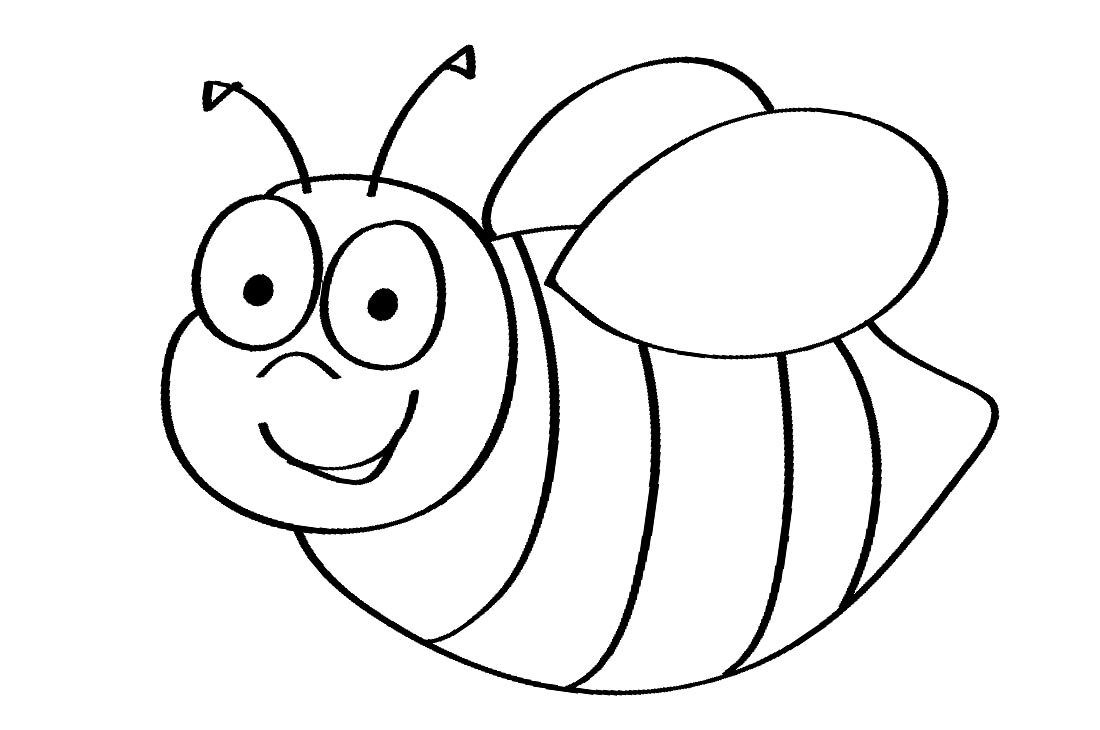 cartoon bumble bee coloring pages free printable bumble bee coloring pages for kids bumble pages bee coloring cartoon