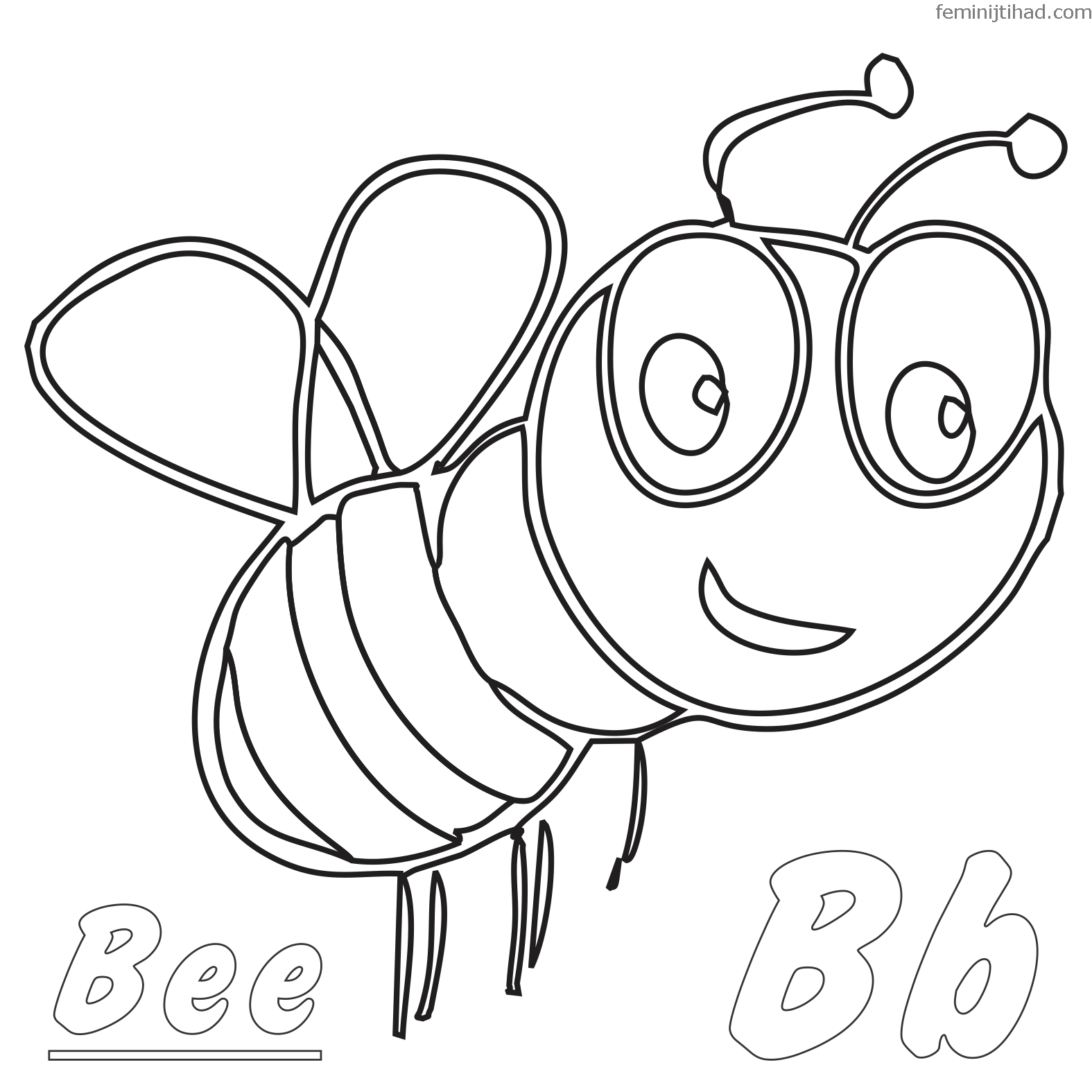 cartoon bumble bee coloring pages free printable bumble bee coloring pages for kids coloring cartoon bee pages bumble