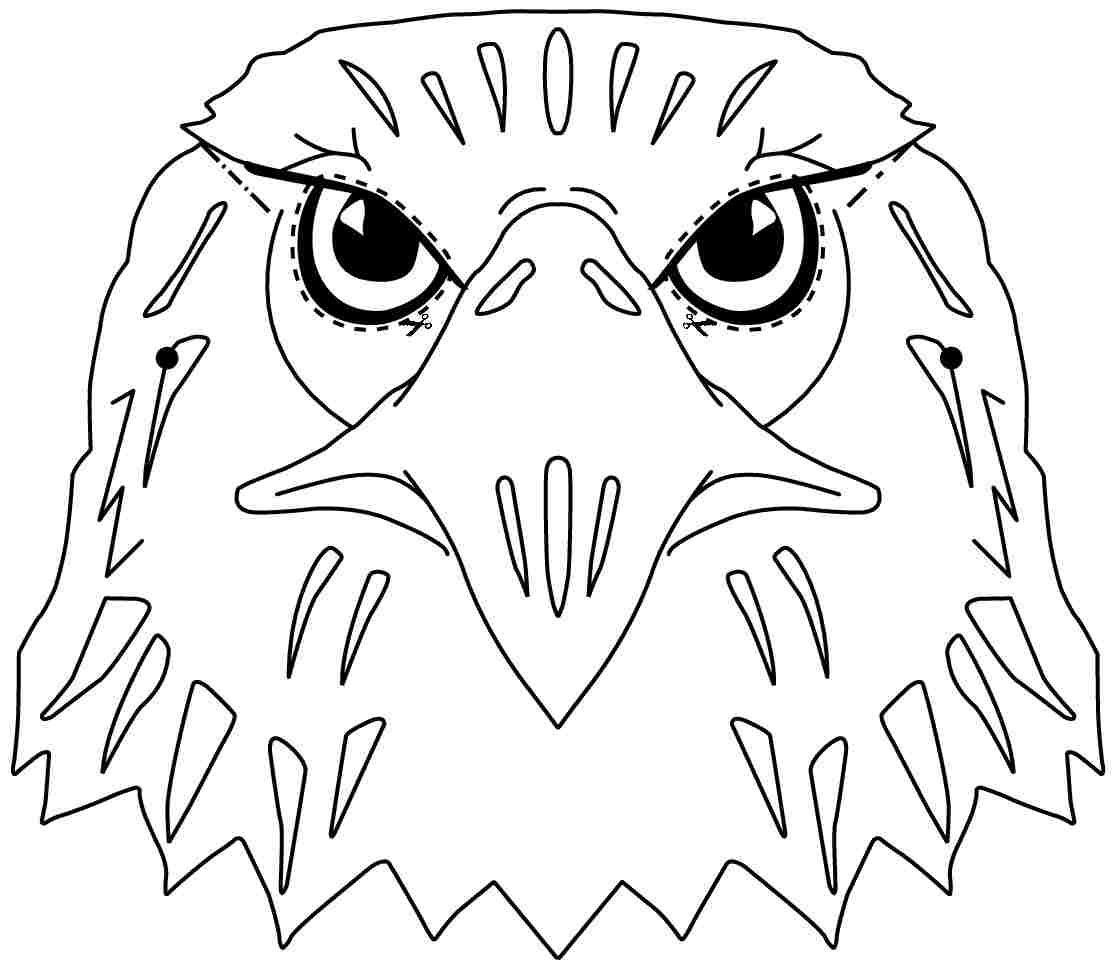 cartoon eagle coloring pages eagle coloring pages to download and print for free eagle coloring cartoon pages