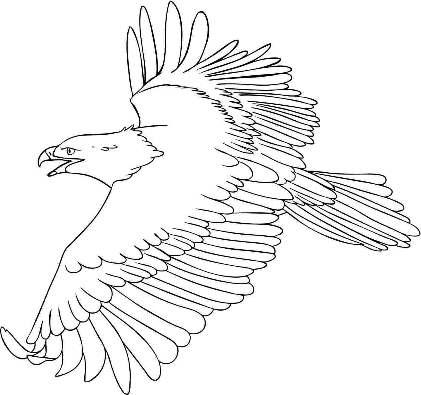 cartoon eagle coloring pages eagle drawing cartoon at getdrawings free download coloring cartoon eagle pages