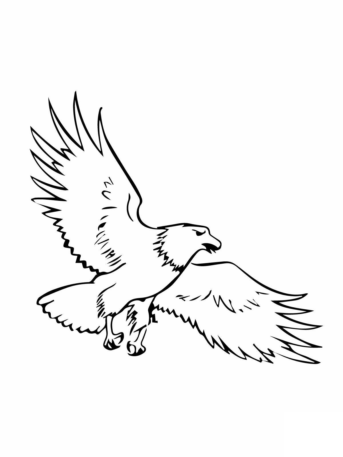 cartoon eagle coloring pages free printable eagle coloring pages for kids eagle pages coloring cartoon