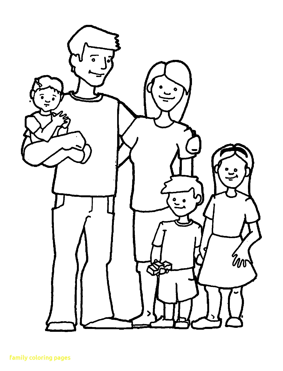 cartoon family coloring pages cartoon family coloring pages at getcoloringscom free family pages coloring cartoon