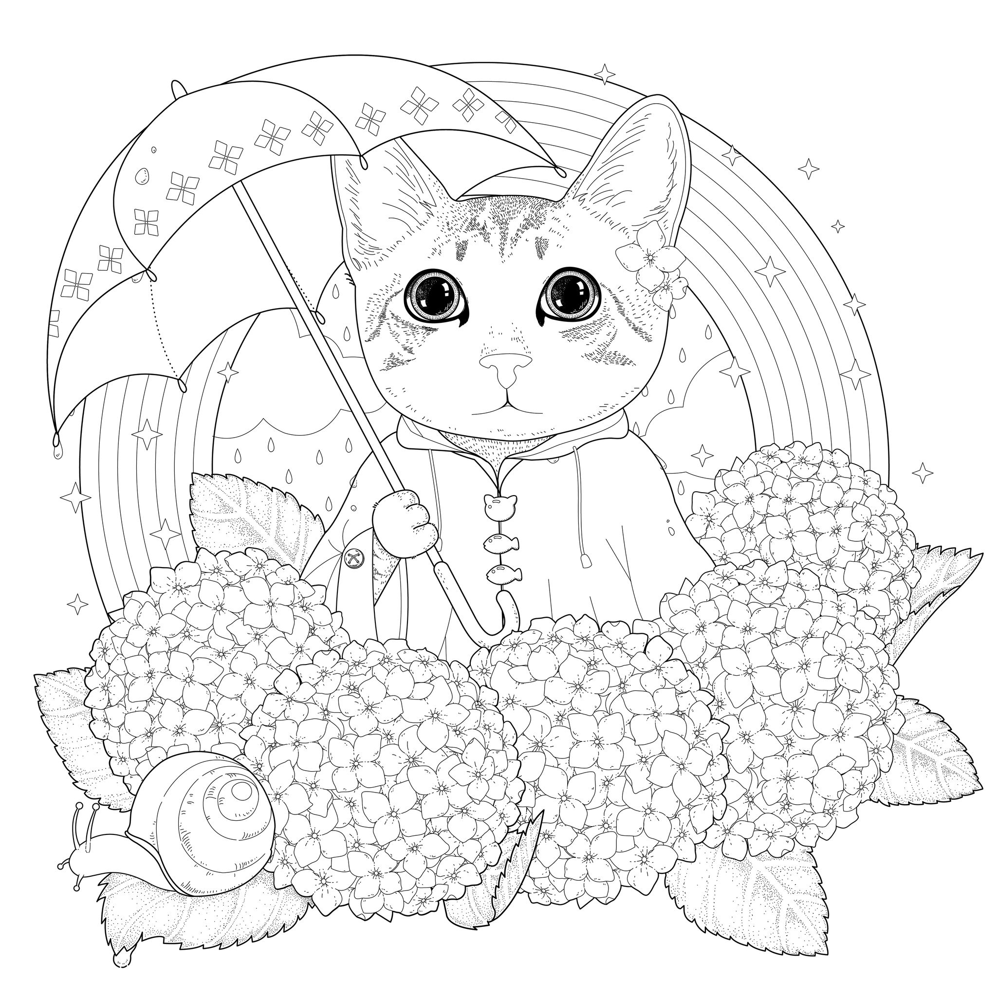 cats pictures to color free printable cat coloring pages for kids cats color to pictures 1 1