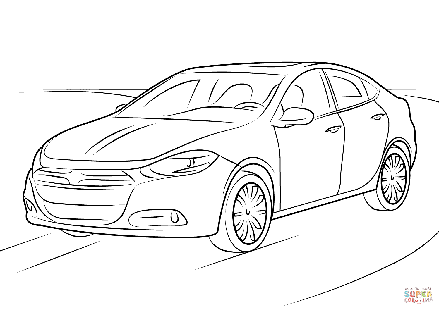 charger coloring pages 98 wicked dodge coloring pages conexionunder coloring charger pages