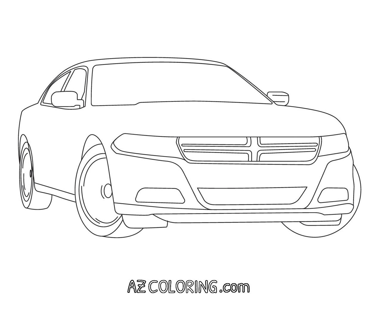 charger coloring pages dodge charger coloring page at getcoloringscom free sketch charger coloring pages