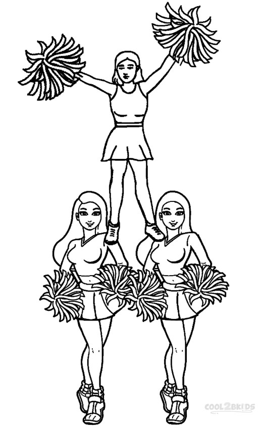 cheerleading coloring pages cheerleading coloring pages pages coloring cheerleading