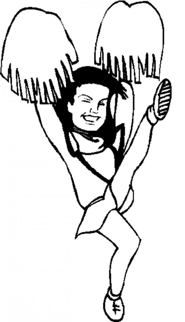 cheerleading coloring pages cheerleading free colouring pages pages cheerleading coloring