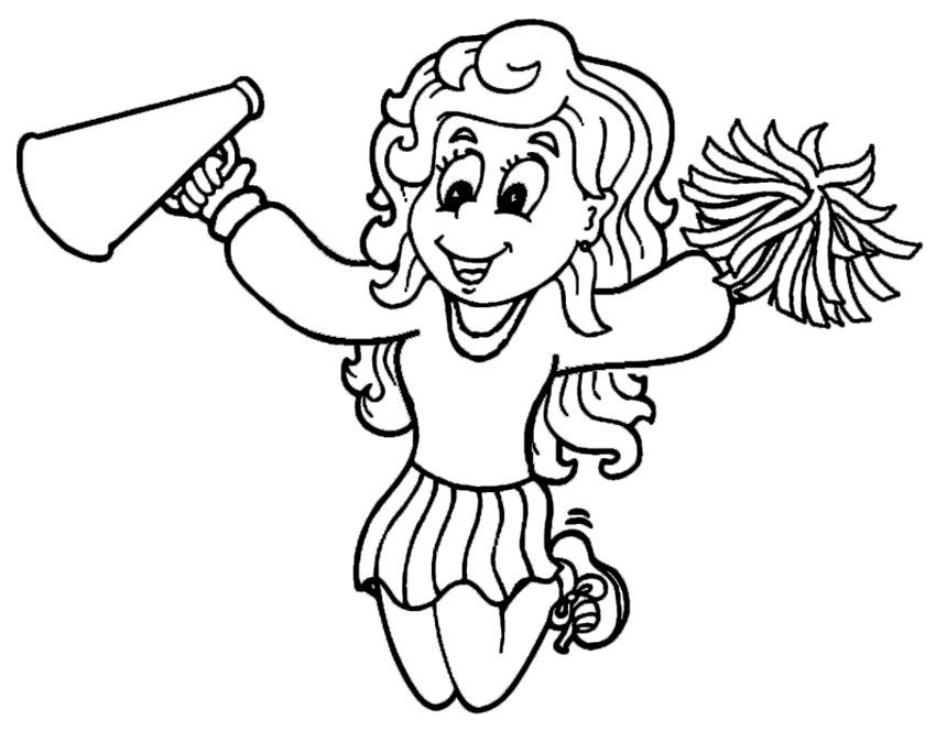 cheerleading coloring pages free printable cheerleading coloring pages for kids pages cheerleading coloring